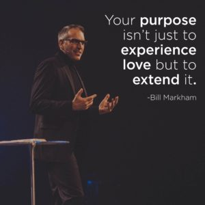 Your purpose isn't just to experience love but to extend it.